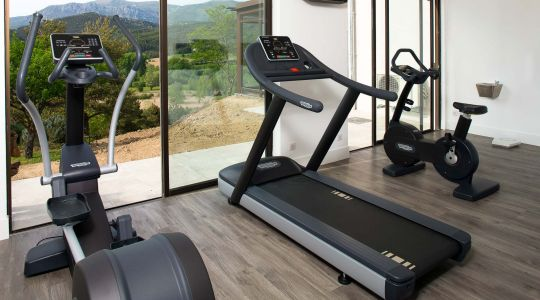 Fitness room Hotel des Gorges du Verdon