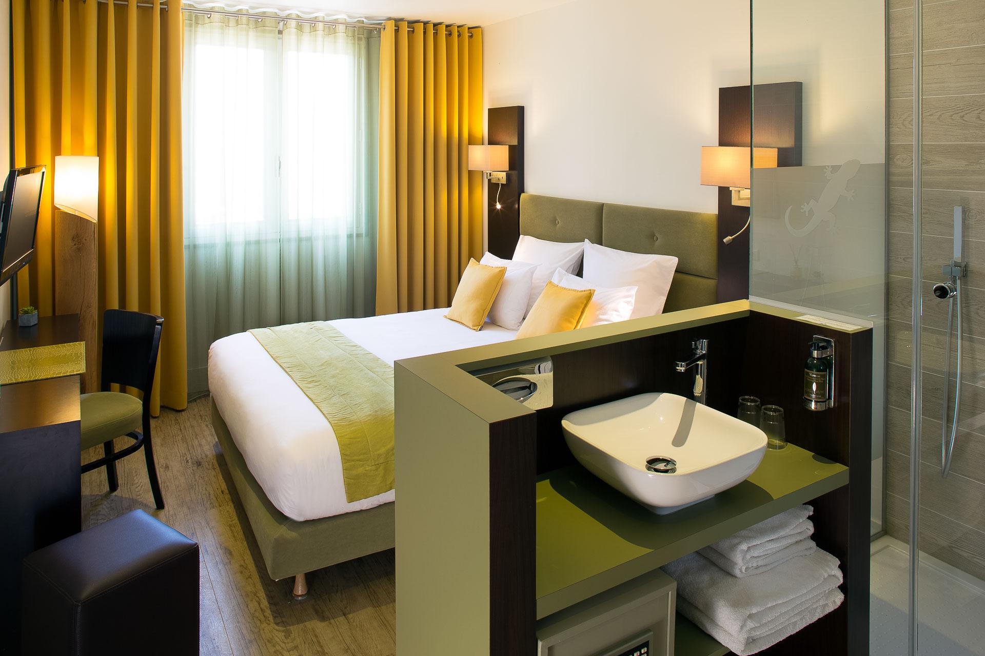 Chambre standard verdon hotel des gorges du verdon - Chambre d hotes gorges du verdon ...